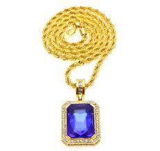hip hop pendant necklace jewelry gold