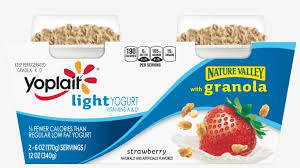 yoplait light yogurt with granola