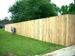 8 Ft Privacy Fence The Common Law Eight 2020 01 19