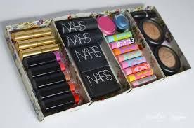 picture of diy makeup storage