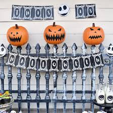 Nightmare Before Christmas Party Decorations Tutorial Make Life Lovely