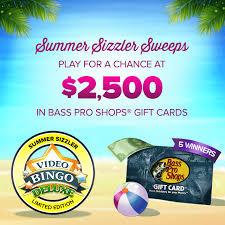 video bingo deluxe summer sizzler