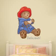 Baby Paddington Bear Wall Sticker Delicious Etsy
