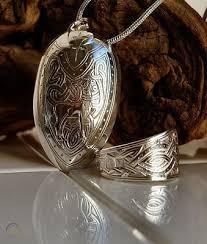 scottish celtic silver spoon ring