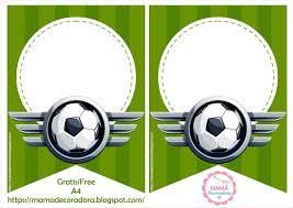 Mama Decoradora Kit Imprimible Futbol Gratis