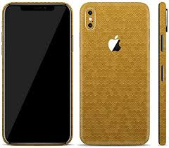 Amazon Com Bloom Skins For Apple Iphone X Iphone 10 Luxury Gold Honeycomb Protective 3m Vinyl Skin Decal Wrap Film Premium Ultra Slim Cover Back Sticker With 3d Texture Made In Usa