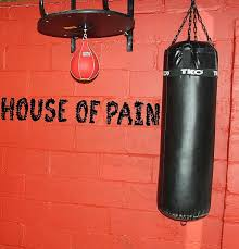 House Of Pain Gym Wall Crossfit Mma Kettlebell Die Cut Vinyl Sticker Blasted Rat