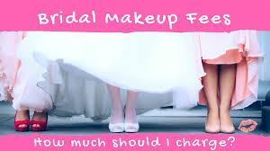 i charge for wedding makeup