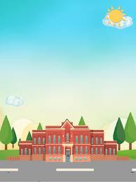 خلفية ملونة لطيف مدرسة ابتدائية تعزيز موسم المدرسة مواد خلفية