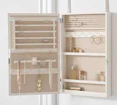 clara over the door jewelry mirror