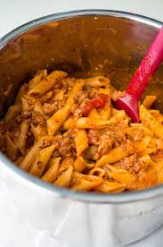 pressure cooker penne pasta with