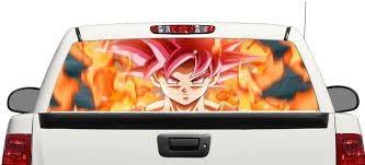 Product Dragon Ball Super Goku Rear Window Decal Sticker Pick Up Truck Suv Car 3