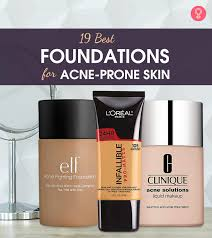 19 best foundations for acne e skin