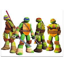 Amazon Com Teenage Mutant Ninja Turtles Poster Decal Giant Peel And Stick Tmnt Wall Decal Poster Room Decor 18 X 24 Tmnt Merch For Kids Boys Girls Baby