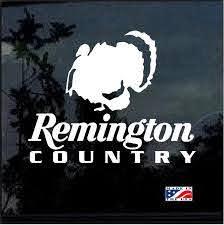 Remington Country Turkey Hunting Window Decal Sticker Custom Sticker Shop