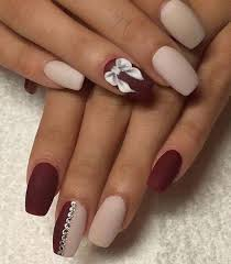 50 creative red acrylic nail designs to