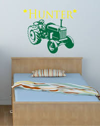 Tractor Decal Boys Room Decal Kids Decals By Davisvinyldesigns 26 00 Boys Room Decals Boy S Room Kids Decals