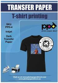 Amazon Com Ppd Inkjet Premium Iron On Dark T Shirt Transfers Paper Ltr 8 5x11 Pack Of 10 Sheets Ppd004 10 Office Products