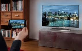 cara menyambungkan hp ke tv dengan atau