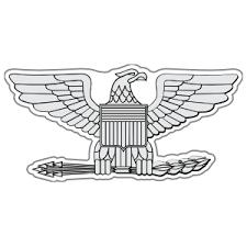 Marine Rank O 6 Colonel Sticker