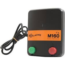 Gallagher M160 Electric Fence Charger Energizer G330444 Free Shipping Gallagher Electric Fencing From Valley Farm Supply