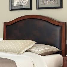 home leather headboard black