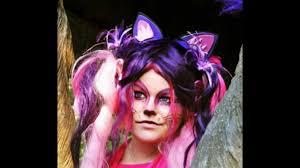 cheshire cat cosplay costume makeup
