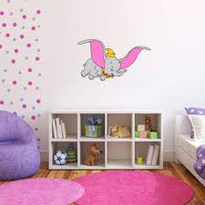 Amazon Com Dumbo The Flying Elephant Dumbo Wall Graphic Decal Sticker 25 X 14 Home Kitchen