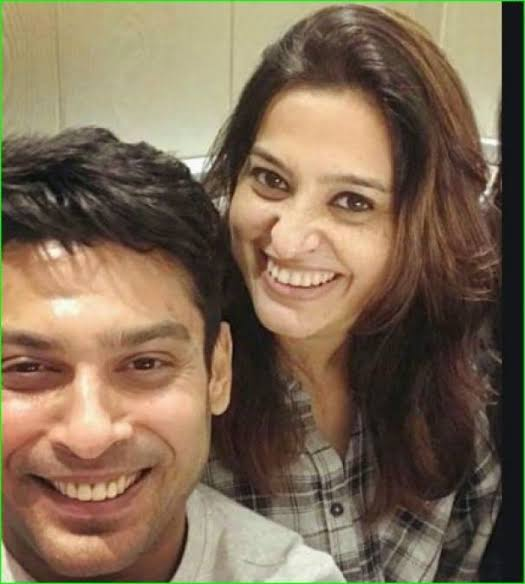 Image result for smita bansal and Siddharth Shukla""