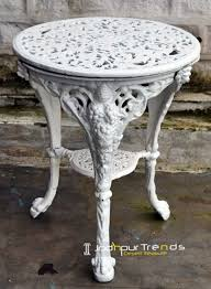 cast iron round table restaurant table