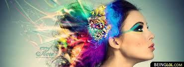colorful make up newest facebook