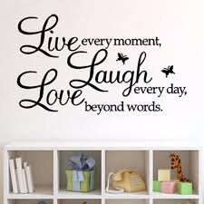 Live Laugh Love Butterfly Inspirational Quotes Livingroom Bedroom Hemlock Home Letter Removable Vinyl Wall Decal Sticker B040 Wall Decals Stickers Decal Stickerlive Laugh Love Aliexpress
