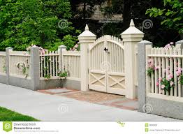 32 056 Entrance Fence Photos Free Royalty Free Stock Photos From Dreamstime