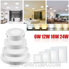 Đèn led ốp trần 12W tròn loại tốt, giá rẻ, cao cấp, Ledvinhtien.com