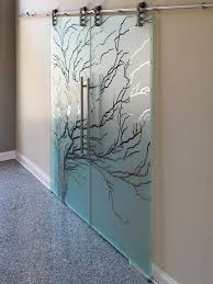 etched sliding glass doors dividers