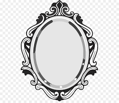 frame clipart ilration mirror