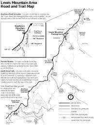 File Nps Shenandoah Lewis Mountain Trail Map Gif Wikimedia Commons