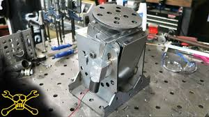 making a powered welding positioner