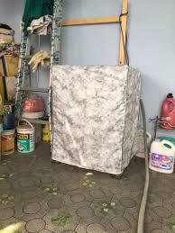 Vải Dù Xịn Không Nổ Vỏ] Áo Trùm Máy Giặt Cửa Trước Bọc Máy Giặt Cửa Ngang  Vải Dù Siêu Bền Chống Thấm Chống Nắng Cho Máy 9 Đến 11kg Kích Thước
