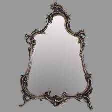 antique ornate silver plate rococo