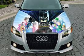 Lego Batman Full Color Sticker Car Hood Car Vinyl Graphics Decal Wrap Mh162 94 99 Picclick