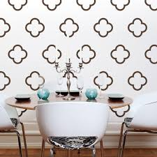 Moroccan Style Vinyl Wall Decals Moroccan Quatrefoil Bubbles 30 Graphics Sticker Wallpaper Item 10027 Wall Decals Vinyl Wall Decals Vinyl Wall