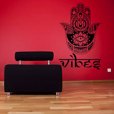 Hand Buddha Quotes Namaste Wall Decals Yoga Mandala Wall Stickers Living Rooms Diy Home Decor Yoga Lotus Decoration Sticker Wall Decor Decorative Wall Paper Art Stickerstickers Porsche Aliexpress