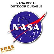 Nasa Meatball Sticker Outdoor Vinyl Decal 3 5 1 Piece New Made In Usa Ebay