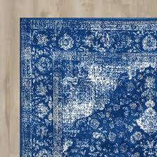 geralyn dark blue area rug area rugs