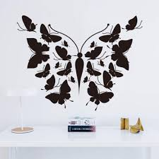Multi Color Hand Carving Multi Butterfly Wall Stickers Decal Bedroom Decor Lh Buy At A Low Prices On Joom E Commerce Platform