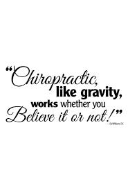 Chiropractic Believe Decal