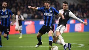 Juve Inter mercoledì e Coppa Italia rinviata
