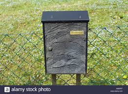 Fence Mailbox High Resolution Stock Photography And Images Alamy
