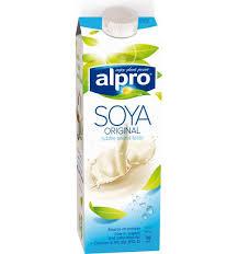 soya plain drink original chilled alpro